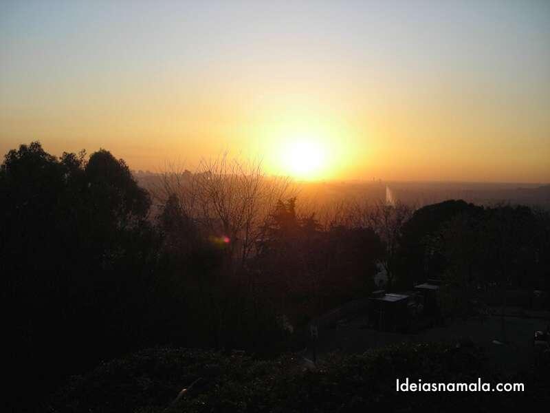 Por do Sol do templo de Debod