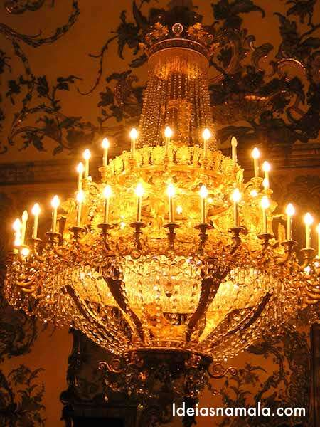Lustre  - Palácio Real de Madri