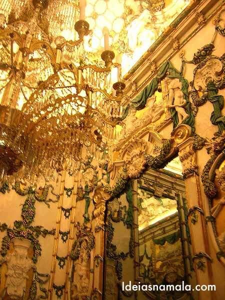 Sala das porcelanas - Palácio Real de Madri