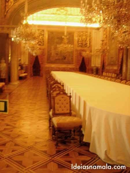 Salão de banquetes - Palácio Real de Madri