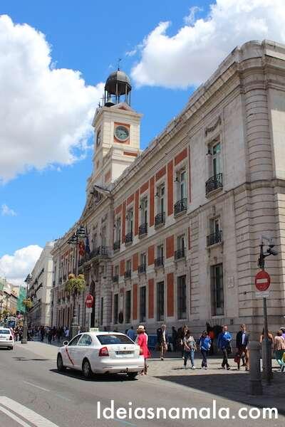 Taxi em Madri