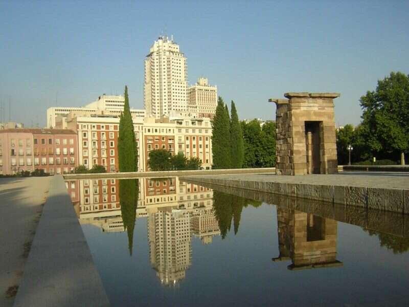Templo de Debod - Madri