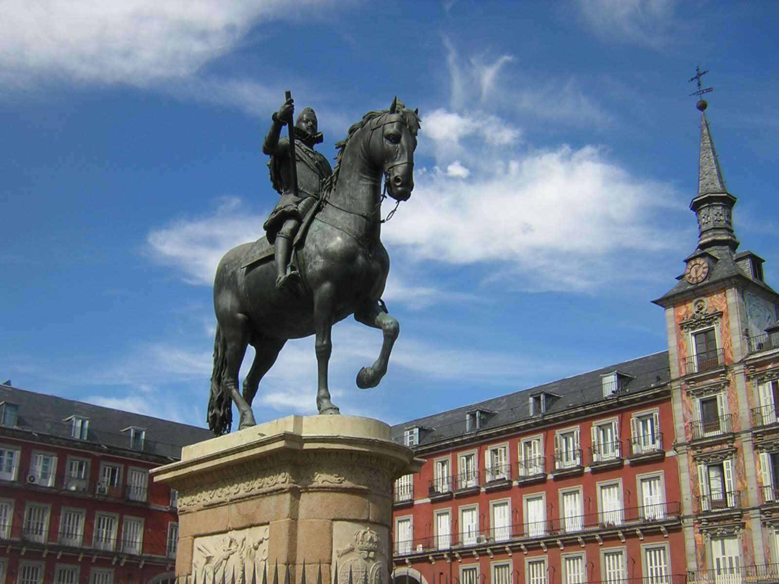Felipe III - Plaza Mayor