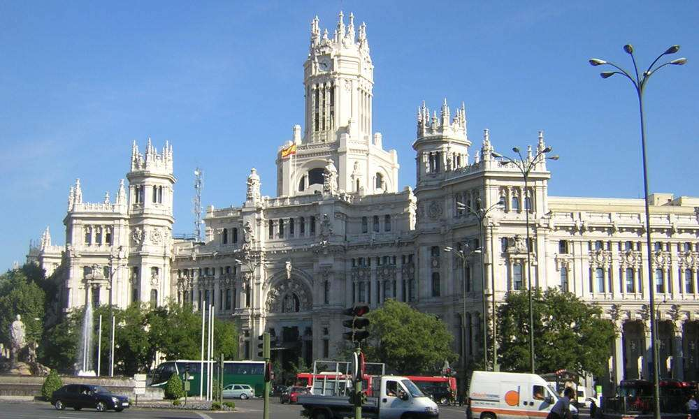 Palácio Cibeles - Madrid