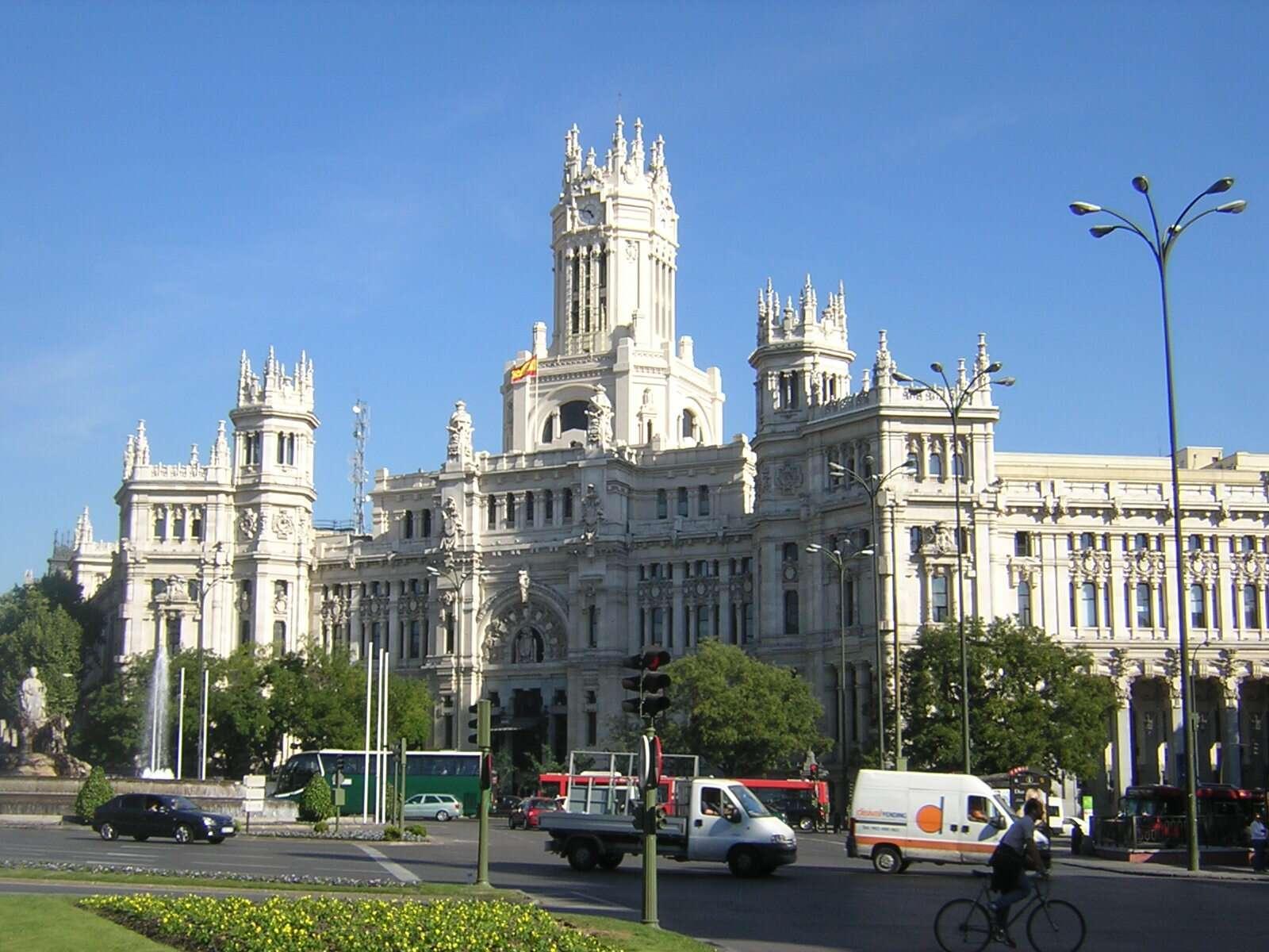 Palácio de Cibelles - Madri
