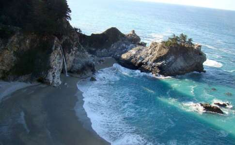 Julia Pffeifer Beach - Big Sur