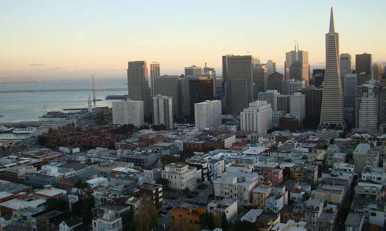Vista da Coit Tower - San Francisco