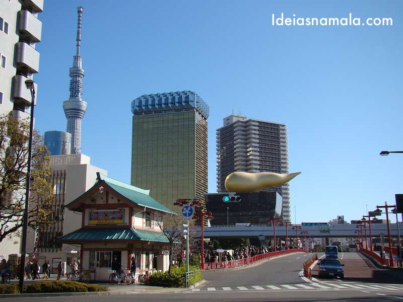 Prédio da Asahi - Tóquio