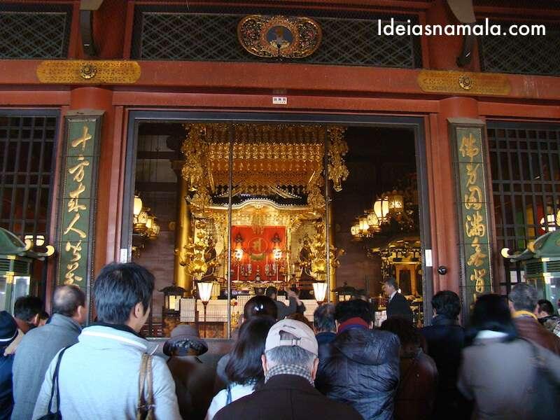 Templo Asakusa - Japão