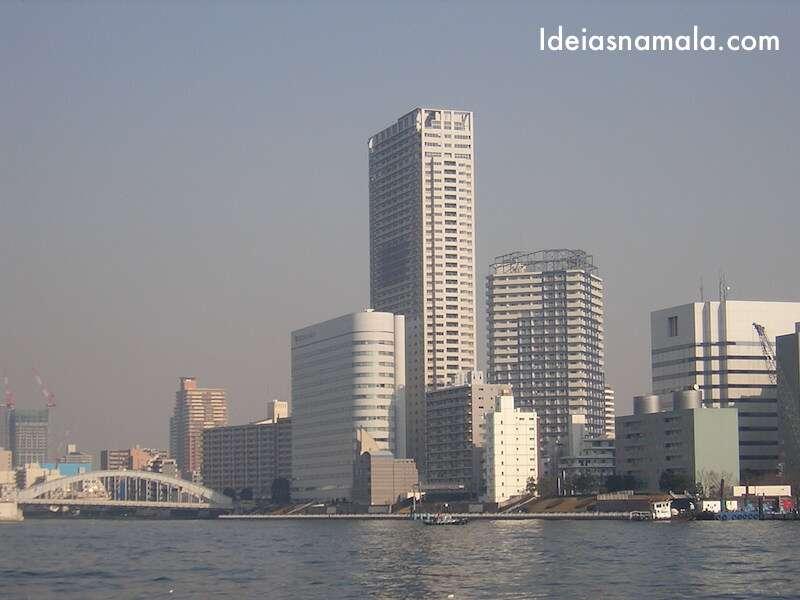 Passeio Rio Sumida - Tóquio