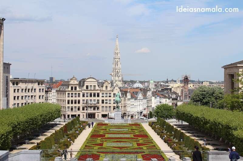Mont des Arts - Bruxelas
