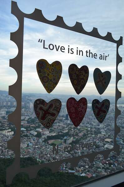 Love is in the air - Torre de Seul