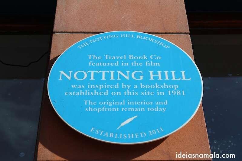 Livraria que inspirou o filme Notting Hill - Londres