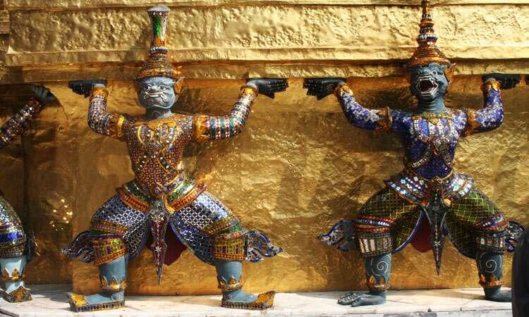 Templo em Bangkok - Tailandia