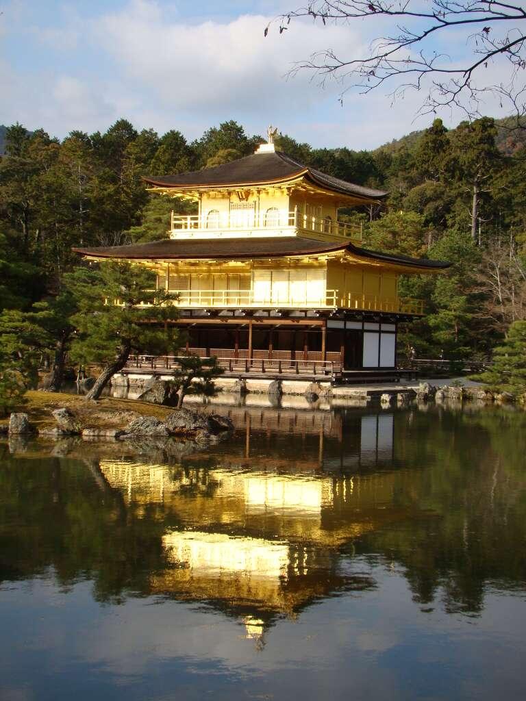 Templo Kinkaku-ji - Kioto
