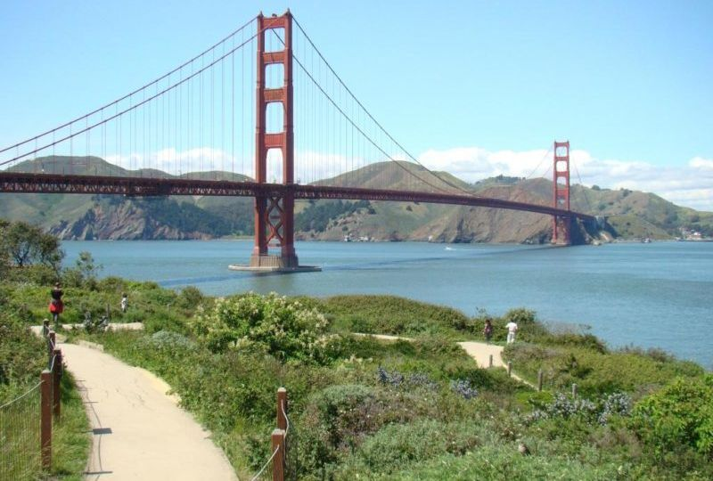 Golden Gate de bicicleta