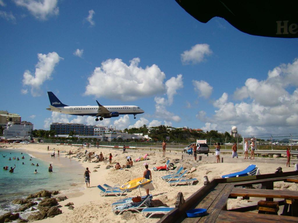 Maho Beach - St. Martin