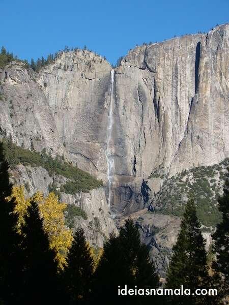 Cachoeira Yosemite Falls no Yosemite Park