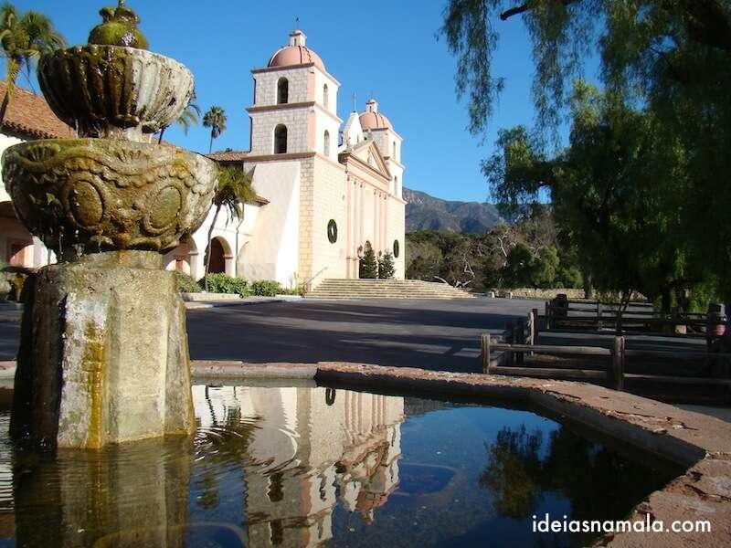 Missão de Santa Barbara - Califórnia