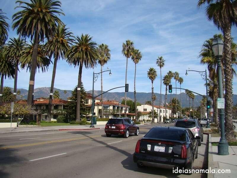 Cabrillo Blvd. em Santa Barbara