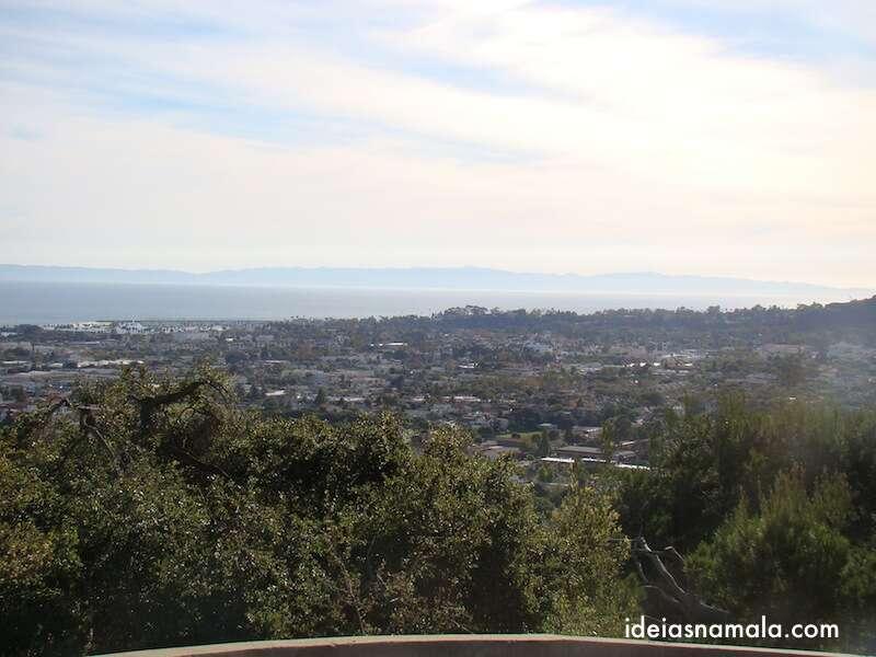 Santa Barbara vista do alto