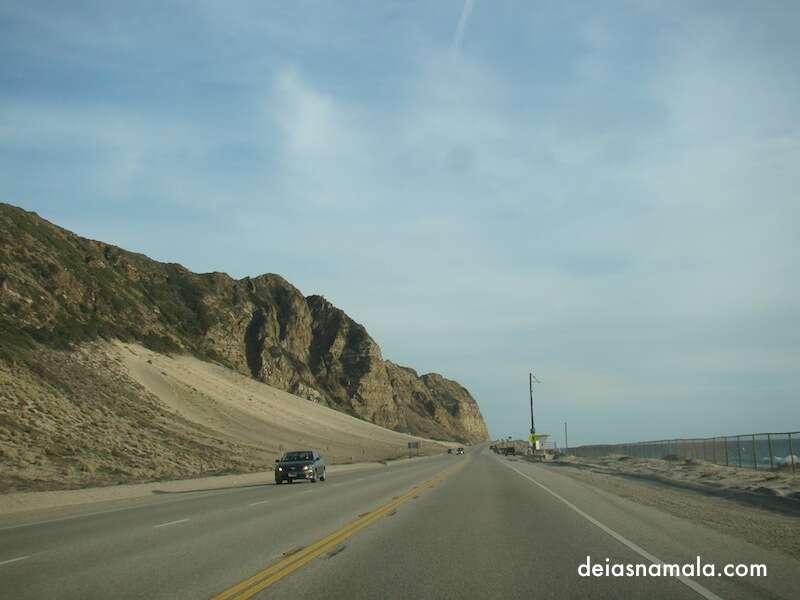 Route 1 Entre Santa Barbara e Santa Monica