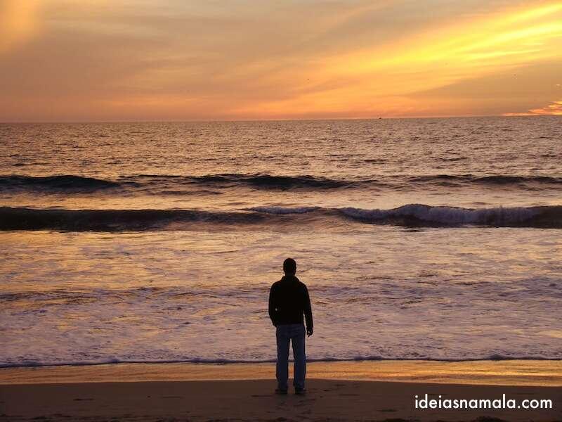 Por do Sol em Santa Monica