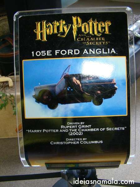 Harry Potter: Ford Anglia 105 E