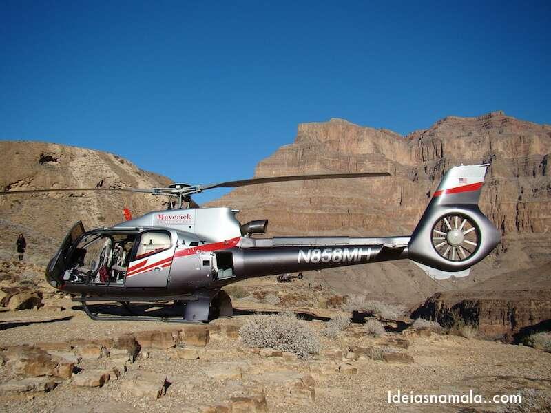 Helicoptero no Grand Canyon