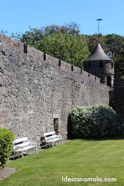 Muralha do Castelo de Cahir, Irlanda