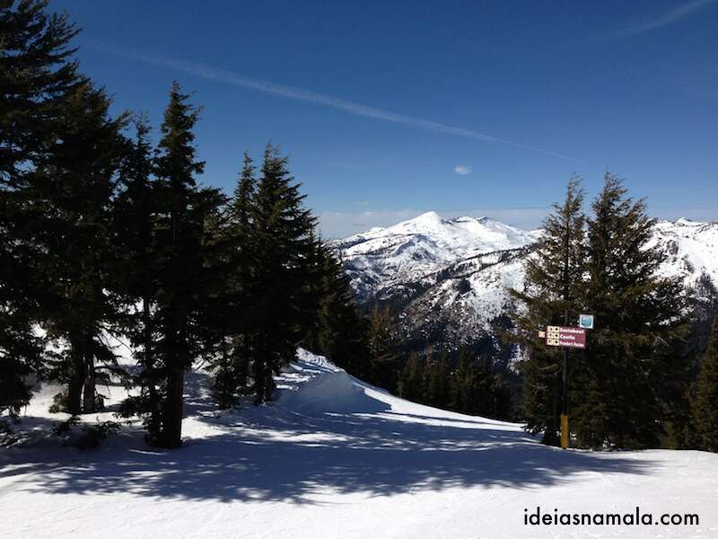 Onde esquiar na Califórnia - Sierra at Tahoe