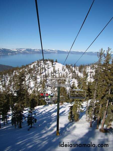 Teleférico em Heavenly - Lake Tahoe