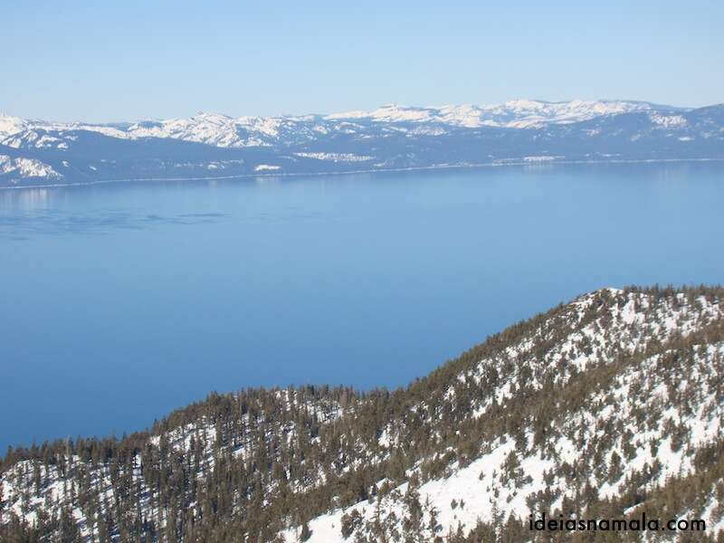 Lake Tahoe visto de Heavenly