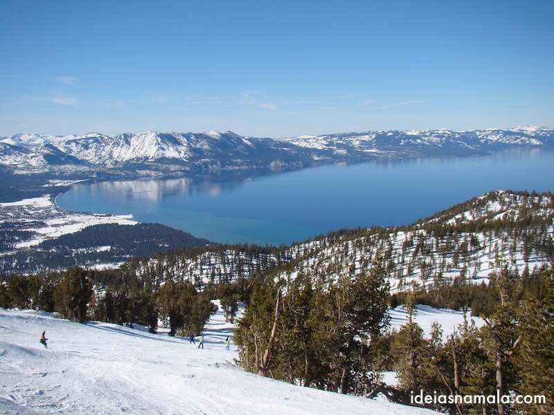 Ski em Heavenly - Lake Tahoe