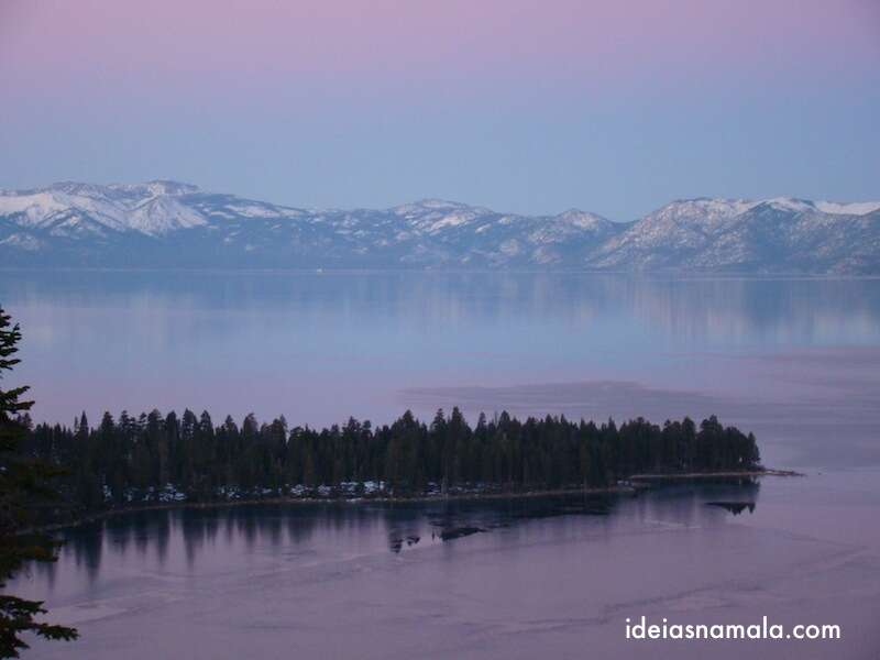 Emerald Bay - um dos lugares mais incríveis de Lake Tahoe