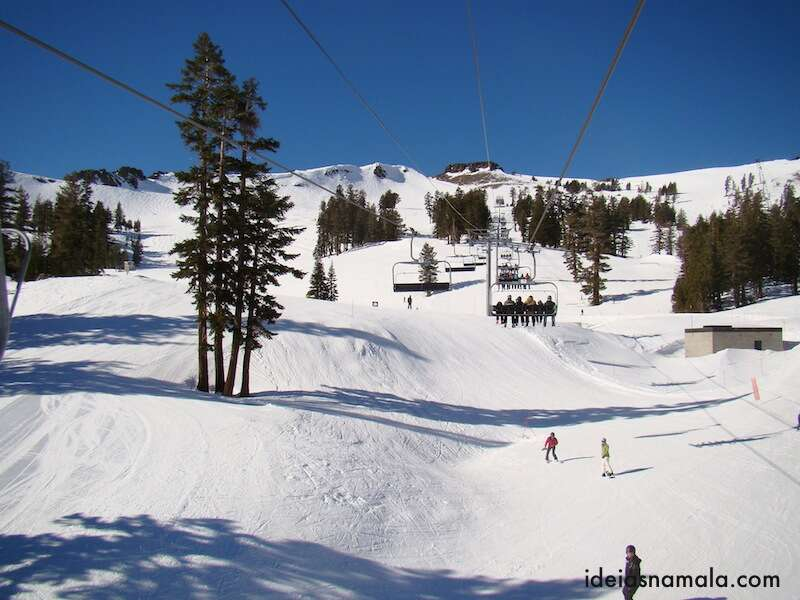Teleférico em Squaw Valley, Lake Tahoe