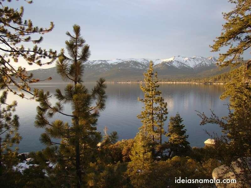 Lake Tahoe no inverno