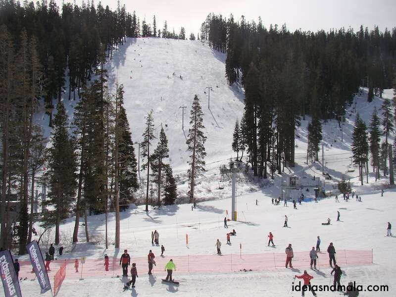 Ski em Sierra at Tahoe