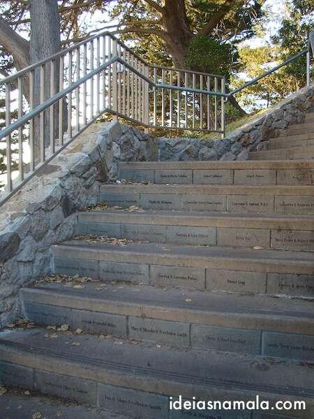 Escadas Coit Tower - San Francisco