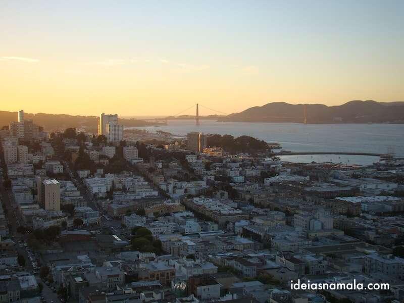 Vista da Coite Tower - San Francisco