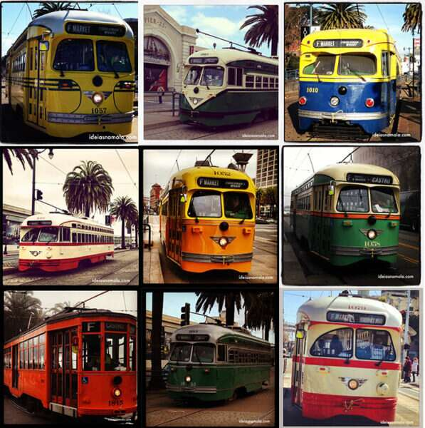 Linha F: Os bondes de San Francisco