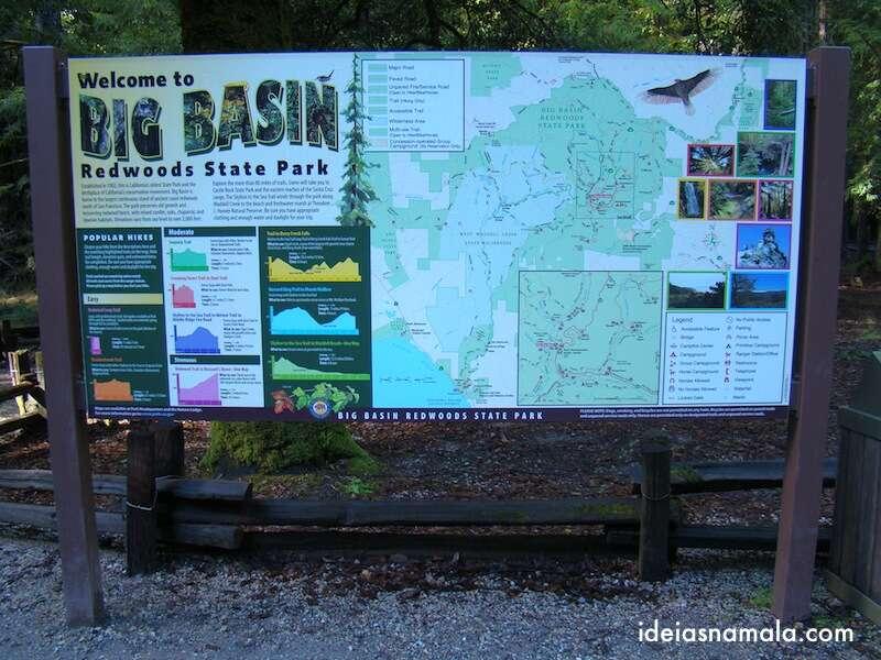 Big Basin Redwoods Park