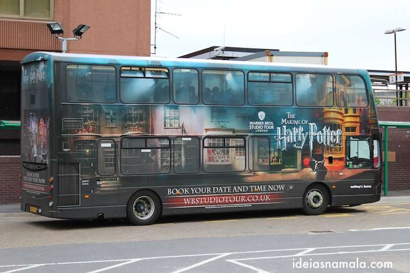 ônibus - Making Off Harry Potter