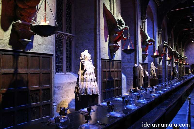 Salão Comunal do Harry Potter - Warner Bros