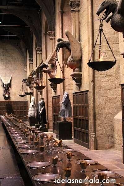 Salão Comunal do Harry Potter - Warner Bros