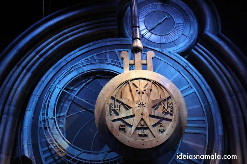 Relógio de Hogwarts - Making off Harry Potter
