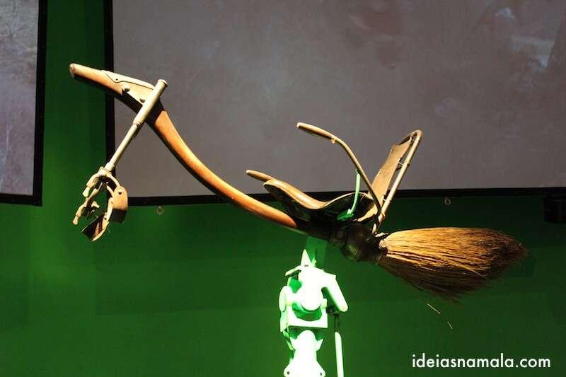 Vassoura de Harry - Making off Harry Potter