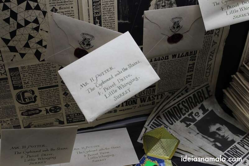 Cartas do Harry Potter - Making Off de Harry Potter