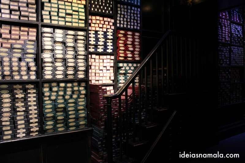 Loja do Olivaras - Making Off Harry Potter