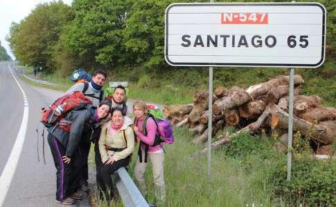 Lugares para viajar sozinho: Caminho de santiago